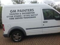 Painter And decorator,Great prices ,free quotes,fully insured cscs card
