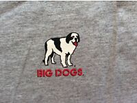 Men's XXXL Big Dogs Hockey T Shirt from America, label attached
