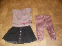 Girl's Size 8 3-piece Outfit