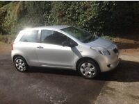 Toyota Yaris 2006 1.0L Silver Excellent Condition