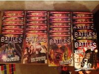 Dr Who Battles in Time Magazines