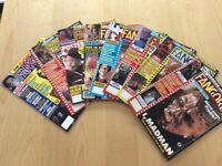 17 fangora and gorezone horror magazines