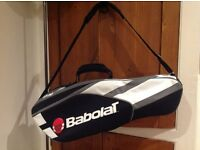 Babolat 2-tennis racquet cover with insulated bottle pocket.