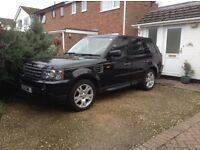 Range Rover Sport, HSE .diesel, automatic, full leather sat nav, black