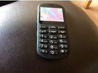 Alba Big Button Mobile Phone - unlocked with no SIM card.