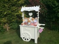 Sweet Cart Hire Middlesbrough from £75.00 Wedding,Birthday Party,Engagement,Christening