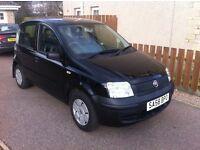 2008/58 Fiat Panda Active 5 Door Black Super Low Mileage 22K FSH One Owner Car