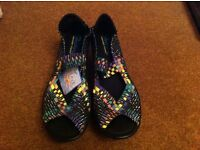 Skechers Parallel Wedge Sandals - UK Size 7