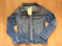 GIRLS DENIM JACKET. 12-13 YEARS. MONSOON BNWT