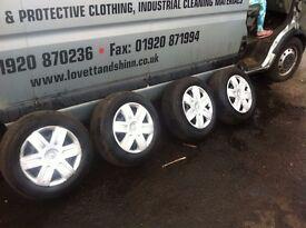 Renault megane csenic wheels