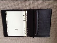 Brown leather personal organiser by John Rocha, brand-new