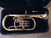 Tenor Horn with case