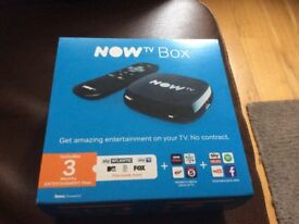 Now TV Box. Brand New. Boxed