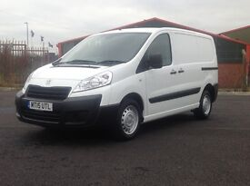 2015 PEUGEOT EXPERT HDI PROFESSIONAL. 3 SEATS. 2 SIDE DOORS. LOTS OF EXTRAS FITTED. GREAT VALUE.