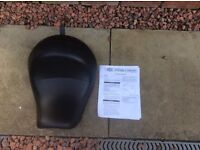 Harley Davidson reduced reach saddle