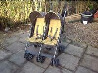 Mamas & Papas kato 2 double buggy/pushchair