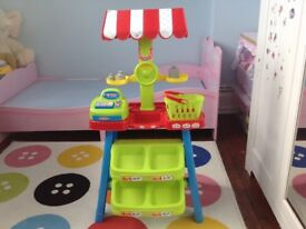 Toy shop stand