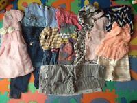 Toddler girl's clothes bundle 3-4Y