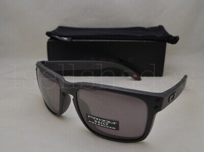 Oakley HOLBROOK (OO9102-B5 55) Steel with Prizm Daily Polarized (Oakley 5 Squared Polarized Lenses)