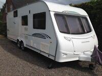 REDUCED REDUCED coachman wanderer 6 berth fixed bunk beds beautiful family caravan
