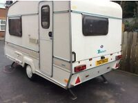 2 berth Bailey beachcomber cd caravan BARGAN PRICE