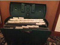 Plastic filing Carrying Box