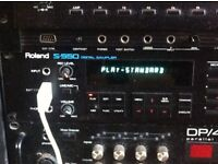 Roland S550 Sampler for sale - True Old School Classic with rare Mouse
