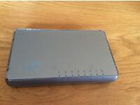 3Com 3CGSU08 10/100/1000 Gigabit Switch 8-Port with PSU