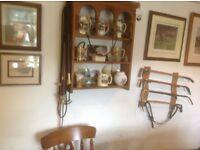 A selection of hunting scene mugs