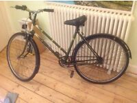 Vintage Rayleigh women's bicycle