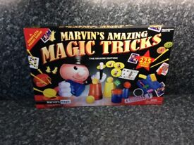 Marvin's Amazing Magic Tricks, Tomy My First Train Set, Talking Trolls Poppy