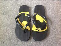 Batman flip flops brand new £3.00