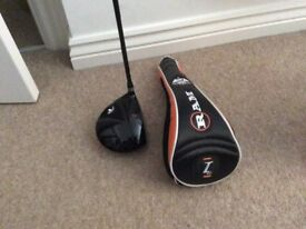 Golf Driver with Headcover For Sale. As New.