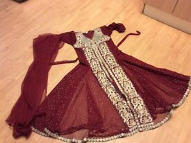 X2 Eid dresses for girls age around 8/9/10 both for 15