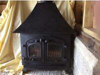 Villager Multi fuel stove.
