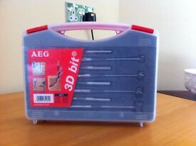 3D drill Bit set NEW in carry case