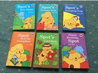 6x spot the dog books