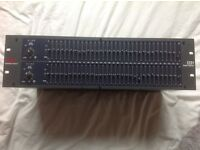 Rarely used since new, excellent condition Dual Channel 31-Band Graphic Equalizer