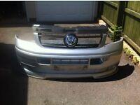 T5 front end, bumper, splitter, bonnet & grill