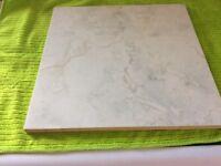 Large Ceramic Tiles x 14, 29cms square x 10ml depth