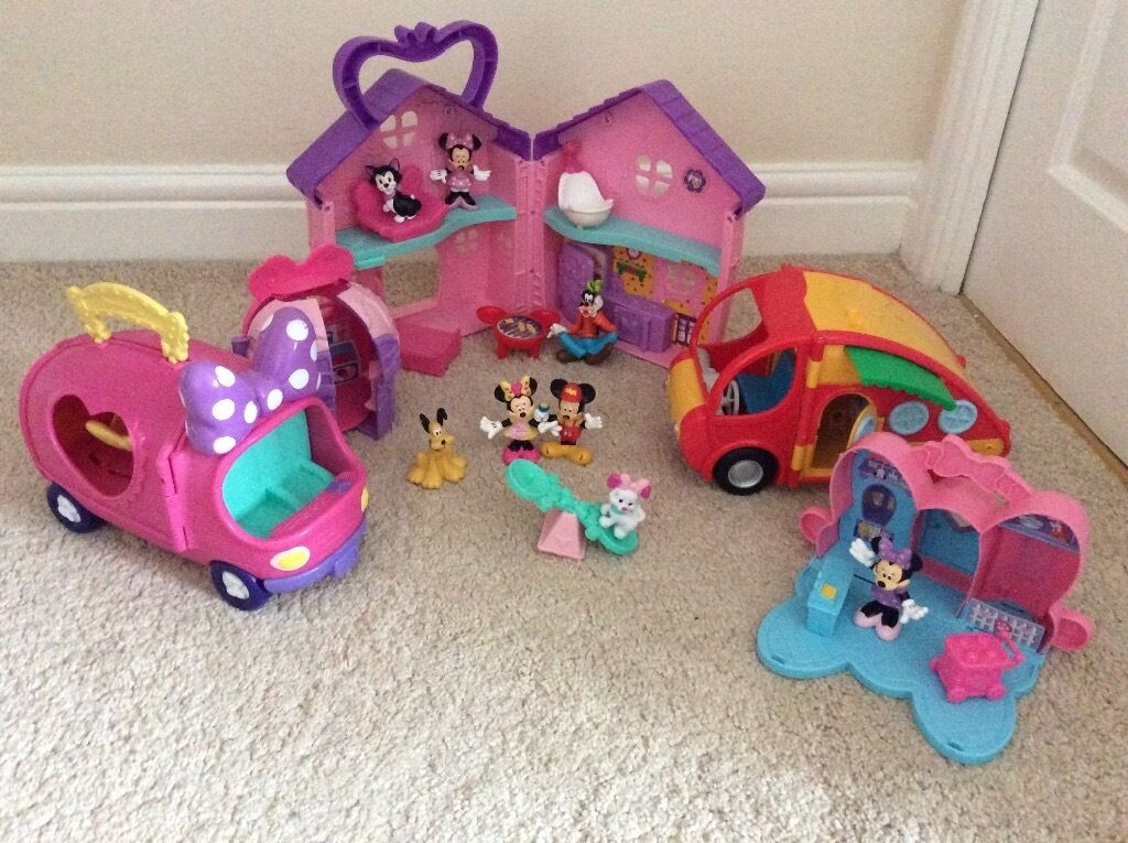 Minnie Mouse Toys : Disney minnie mouse toys bowtique playsets mickey