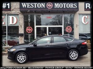 2014 Ford Fusion SE*BLUETOOTH*POWER GROUP* SYNC* POWER SEATS*