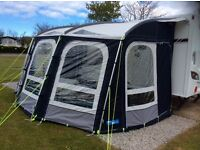 Kampa Rally Pro Ace 400 Awning. Used 3 times only