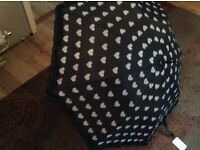 Lush ladies umbrella..by susino...brand new with ticket still on..lovely large umbrella lovely lush