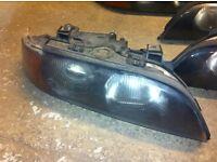BMW 5 series E39 headlights