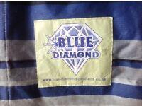 Blue Diamond large windbreak
