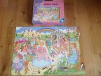 3 Galt sparkle puzzle - Princess Party, Ballet Class, Fairy Garden