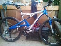 Reebok mountain bike 31inch frame tall person bike