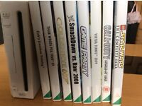 Nintendo Wii, Controllers & Games