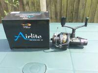 Brand new!!! T F Gear Airlite Free Spool Reel-50